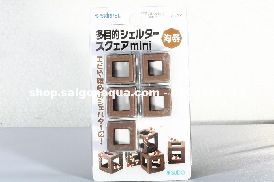 sứ vuông  - đồ chơi cho tép 1