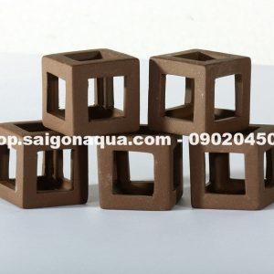 sứ vuông - đồ chơi cho tép
